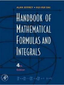 Handbook of Mathematical Formulas and Integrals, 4/Ed