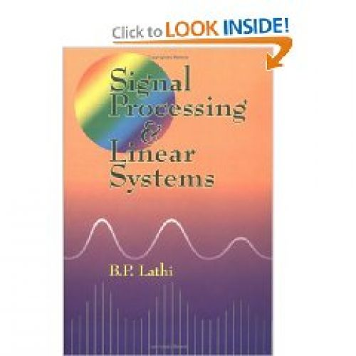 Signal Processing and Linear System
