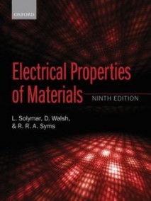 Electrical Properties of Materials, 9/Ed