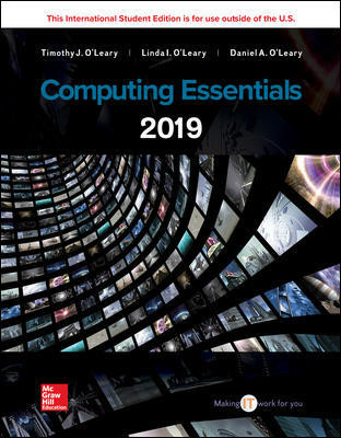Computing Essentials 2019