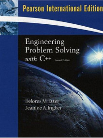 Engineering Problem Solving with C++: International Edition