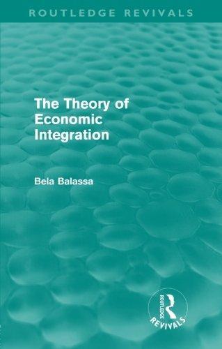 Theory of Economic Integration
